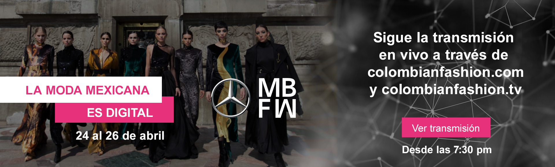 Mercedes Benz Fashion week Mexico City